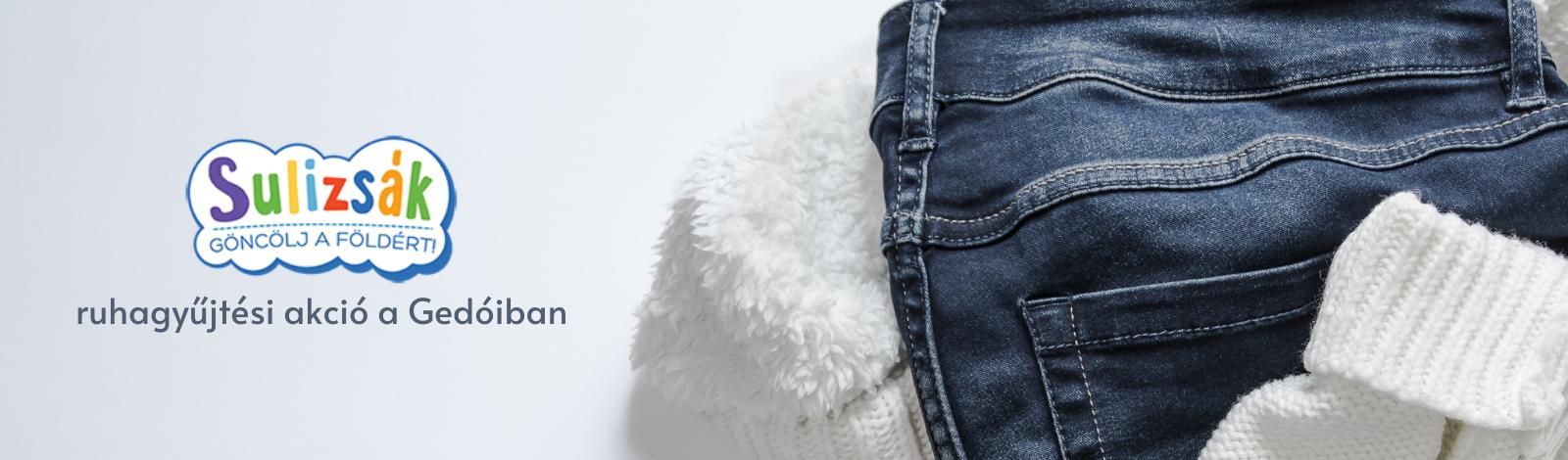 Sulizsák – ruhagyűjtési akció